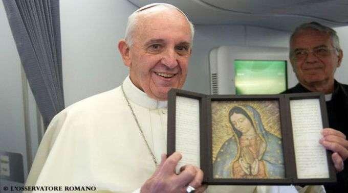 07/10 - Papa Francisco considera a possibilidade de visitar o México em 2016