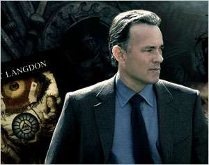 Tom Hanks representando Robert Langdon