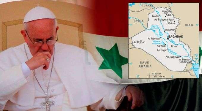 Papa Francisco exorta a colocar fim ao drama humanitário no Iraque
