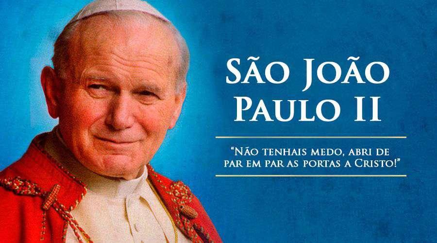 Em Um Dia Como Hoje São João Paulo Ii Partiu Para A Casa Do Pai