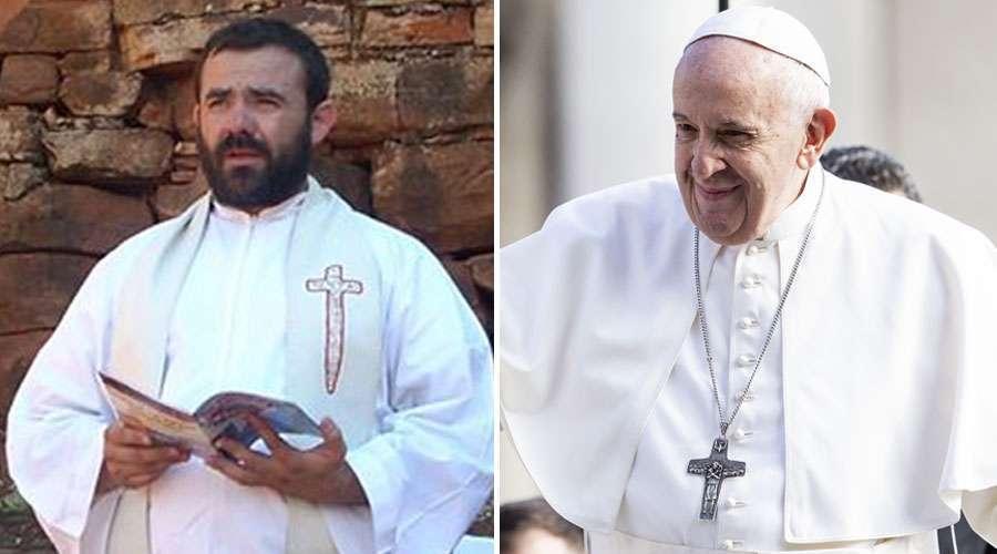 Papa recebe sacerdote atacado por extrema esquerda - ACI Digital