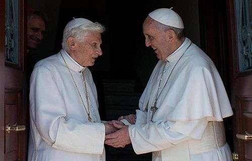 Papa Francisco rezou com Bento XVI pela Jornada Mundial da Juventude Rio 2013