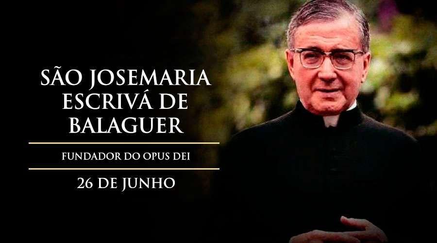 Hoje é celebrado São Josemaria Escrivá 2cbe4d86a2b96