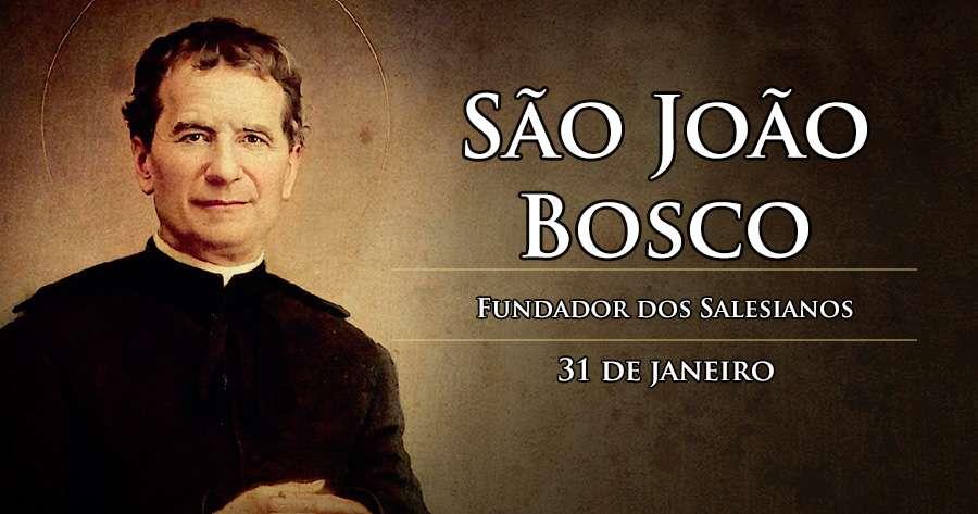 Resultado de imagem para Memória de S. JOÃO BOSCO
