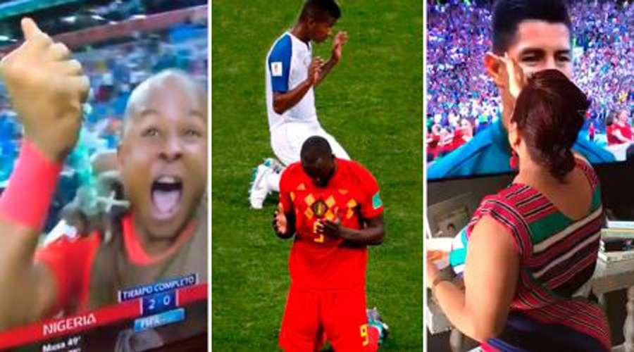 9 gestos de fé que marcaram a Copa Rússia 2018 5d52f1ce85dff