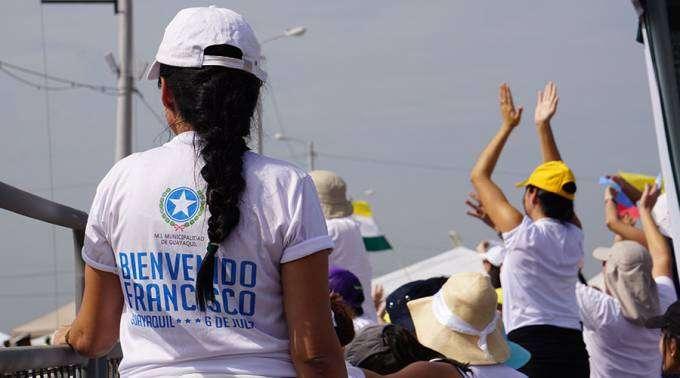 O que mais impressionou o Papa durante sua viagem ao Equador: a imensa acolhida do povo