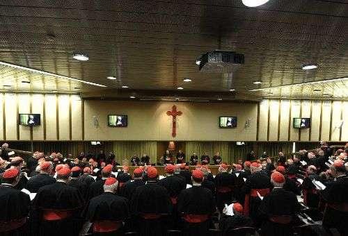 Congregação Geral de Cardeais. Foto: L'Osservatore Romano