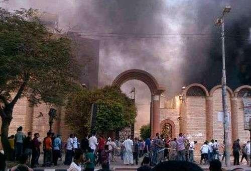 Uma das muitas Igrejas cristãs no Egito