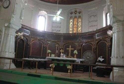 Interior da Igreja de Todos os Santos