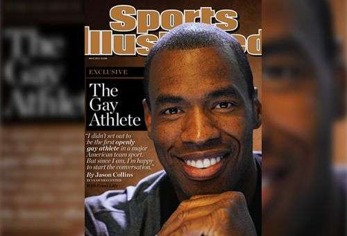 Jason Collins na capa da Sports Illustrated