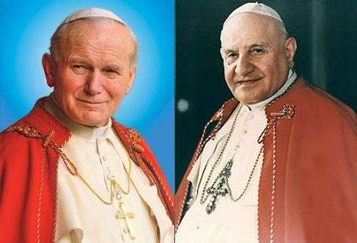 João Paulo II e João XXIII