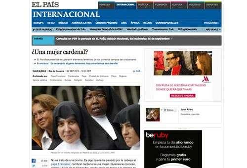 Site de El País
