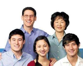 Richard Cohen e sua família (foto El Tiempo)