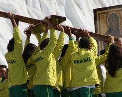 Brasileiros em Quatro Ventos (foto ACI Prensa)