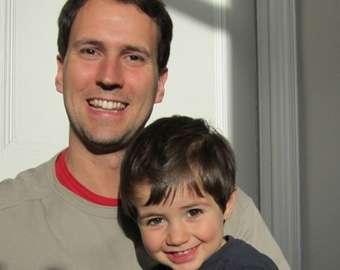 Dr. Thomas Sardella e seu filho Emanuele. (Foto: SPUC)