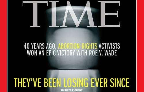 A capa deste mês da Revista Times