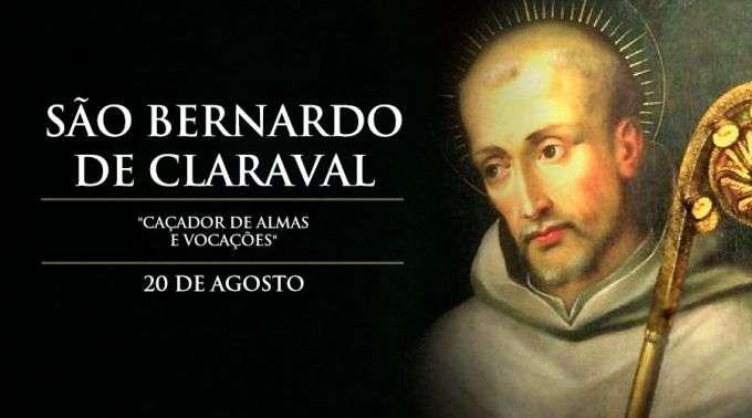 """Hoje é Celebrado São Bernardo De Claraval, O """"caçador De"""
