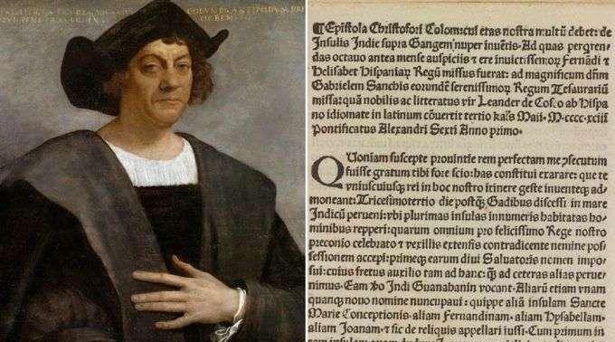 Resultado de imagem para Retornou ao Vaticano a carta de Cristóvão Colombo