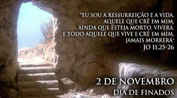 Hoje A Igreja Recorda Os Fiéis Defuntos