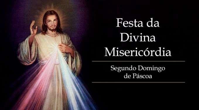 Hoje é celebrada a Festa da Divina Misericórdia