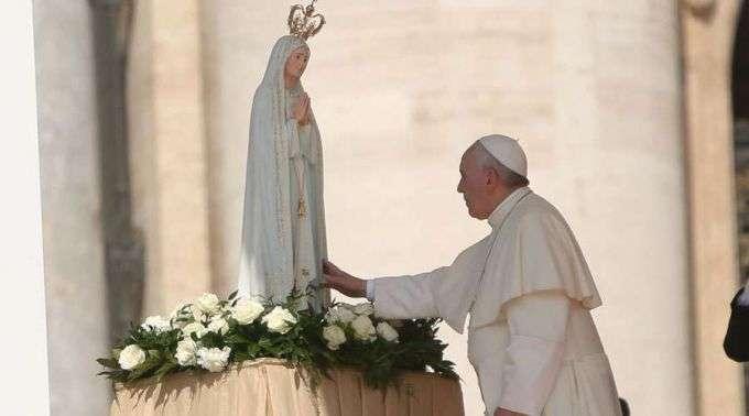 Papa Francisco: Onde Nossa Senhora é de casa, o diabo não entra