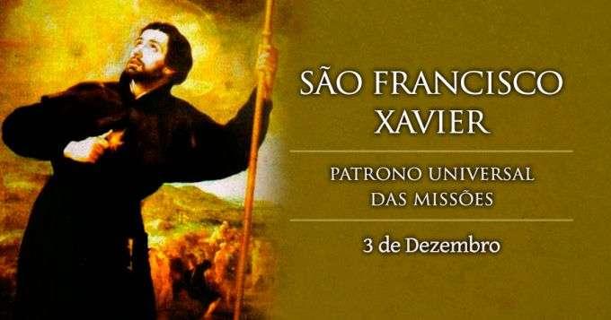 Hoje é Celebrado São Francisco Xavier O São Paulo Do Oriente