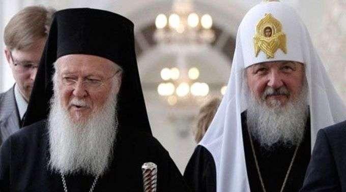 Resultado de imagem para Igreja Ortodoxa Russa rompe relações com patriarca de Constantinopla