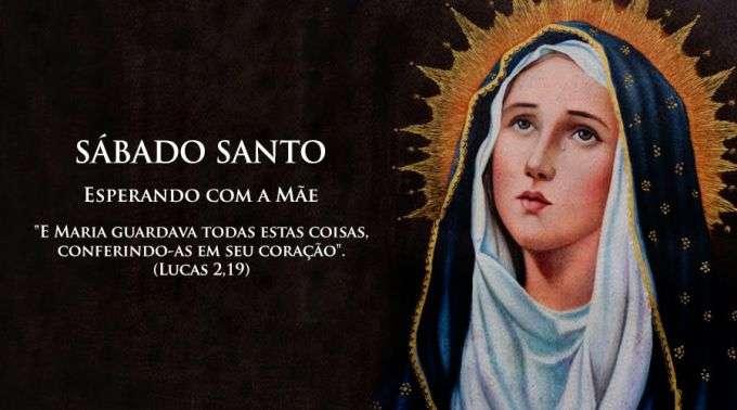 O Mundo Inteiro Espera A Resposta De Maria: No Sábado Santo, Esperamos Com Maria