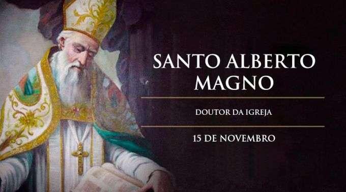 Resultado de imagem para Santo Alberto Magno