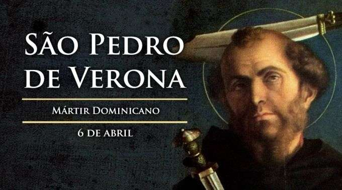 Hoje é Celebrado São Pedro De Verona, Mártir Dominicano