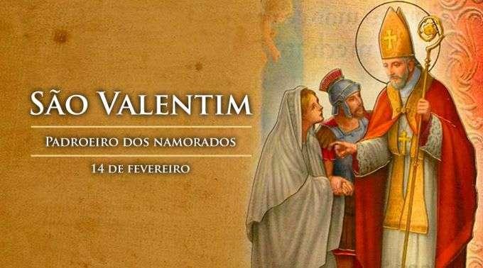 Hoje é recordado São Valentim, padroeiro dos namorados