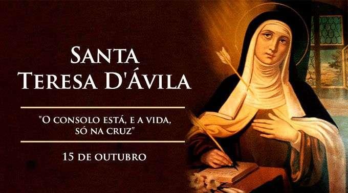 Hoje é Celebrada Santa Teresa Dávila Doutora Da Igreja