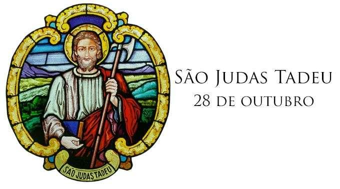 Hoje é celebrado São Judas Tadeu, padroeiro das causas impossíveis