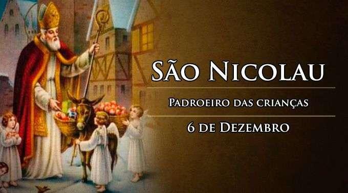 4659df405 Hoje a Igreja celebra São Nicolau, padroeiro das crianças – Paróquia de Santo  Afonso