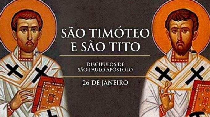 Resultado de imagem para são Timoteo e Tito