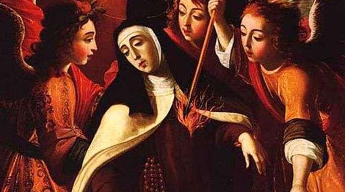 Uma Flecha Divina Marcou O Coração De Santa Teresa Dávila E Sua